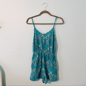 ☆ mossimo patterned romper ☆